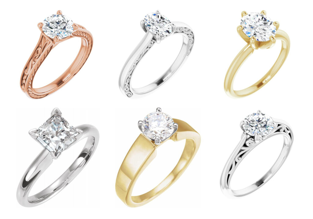 Solitaire Jewellers Woden Engagement Ring Bar